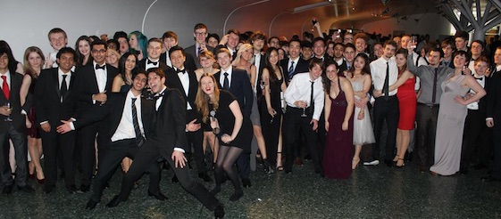 QMUL physics society ball