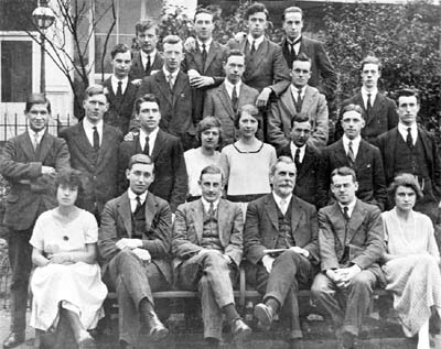 1922 Staff and Students