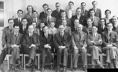 Staff and Research Students 1952