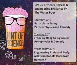 Pint of Science festival poster