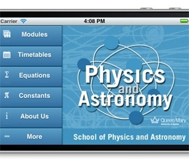 QM Physics mobile app
